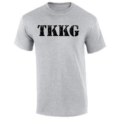TKKG TKKG Logo-Shirt Version schwarz unisex T-Shirt grau meliert