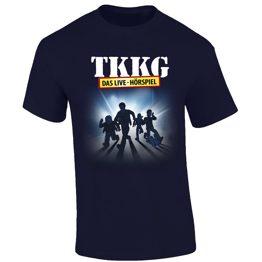 TKKG TKKG Tour-Shirt unisex T-Shirt, marineblau