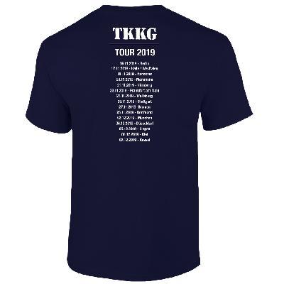 TKKG TKKG Tour-Shirt unisex T-Shirt marineblau